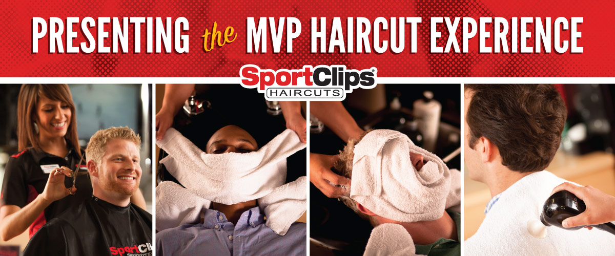 The Sport Clips Haircuts of Alabaster MVP Haircut Experience